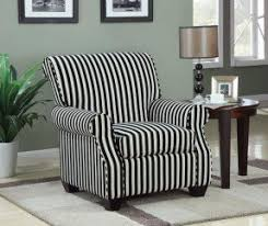 Black And White Striped Accent Chair Epic Striped Accent Chair In Home Decor Ideas With Additional 45