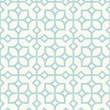 Tile Wallpaper A Maze Turquoise Tile Wallpaper 2697 78025 The Home Depot
