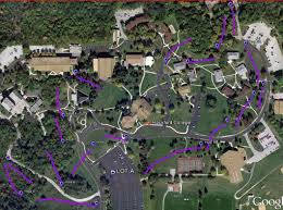 Rockford Illinois Map by Rockford University Disc Golf Course Professional Disc Golf