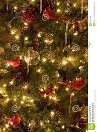 christmas tree with berries and pine cones christmas lights