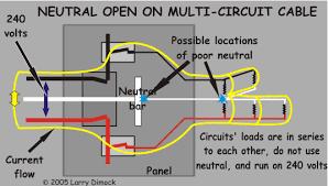 weird circuit problem at home
