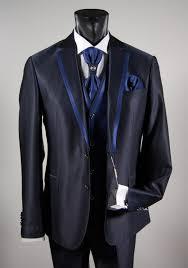 blue slim fit mens suit online sales man ceremony musani milan