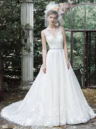 ivory wedding dresses wedding dress colors in shades of white for every maggie