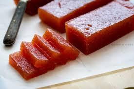 comment cuisiner les coings recette de pâte de coing jujube en cuisine