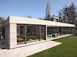 One Story Contemporary House Plans One Story Modern House House Modern