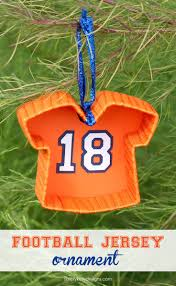 diy football jersey ornament simply designs