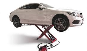 scissor lift table hydraulic mobile low profile powerlift