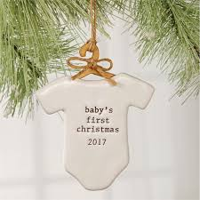 mud pie christmas ornaments ceramic baby s christmas 2017 ornament mud pie