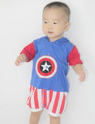 captain america spirit halloween child cuddly superman costume boys halloween costumes young baby