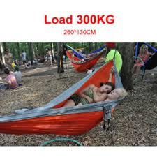 china sale two person portable parachute nylon hammocks double