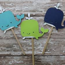baby shower whale theme best nautical baby shower cupcake toppers products on wanelo