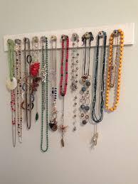 necklace storage display images Diy simple necklace storage display squid birch