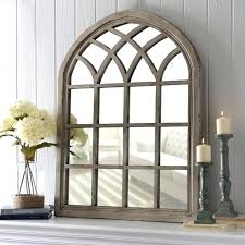 Ideas Design For Arched Window Mirror Rustic Arched Window Mirror Lovely Decorating Ideas Prodigious