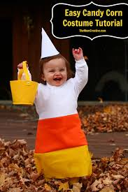 Corn Halloween Costume Diy Easy Candy Corn Costume Tutorial Mom Creative