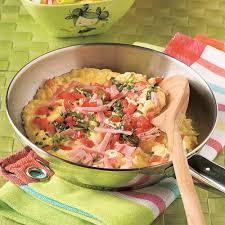 cuisine tomate omelette jambon fromage et tomate recettes cuisine et nutrition