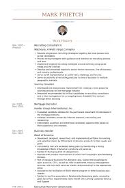 hr business consultant resume recruiting consultant resume samples visualcv resume samples