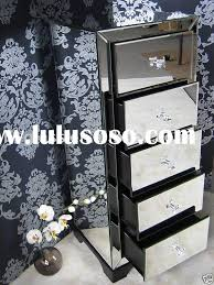 Black Mirrored Bedroom Furniture by Mirrored Chest Glass Venetian Home Furniture Mirrored Bedroom