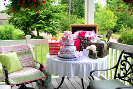 photo outdoor baby shower decorating image