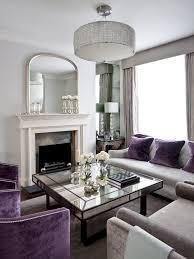 Purple Living Room Accessories Uk Impressive Purple Standard Living Room Traditional With Kensington