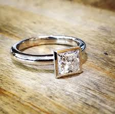 gold engagement rings uk engagement rings princess cut 18ct white gold solitaire max