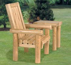 wood furniture outdoor