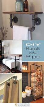 home design diy diy projects with pipe pipes tutorials and house
