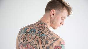 machine gun kelly the guy whose tattoos you u0027ll be seeing