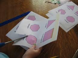 Sum Of The Interior Angles Of A Polygon Worksheet Almost Unschoolers The Sum Of The Interior Angles Of Convex
