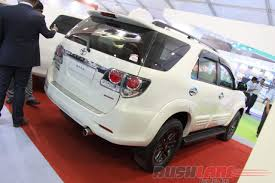 fortuner toyota fortuner gets armoured at 2016 defexpo