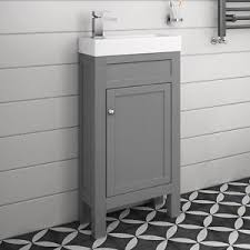 Traditional Bathroom Vanity Units by Vanity Unit With Sink Vienna Wall Mounted Vanity Unit 800mm Wide