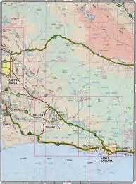 Solvang Map Santa Barbara County