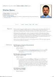 web developer resume sample web developer resume 4 web developer