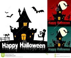 haunted house clipart free happy halloween cards 1 stock image image 34368431