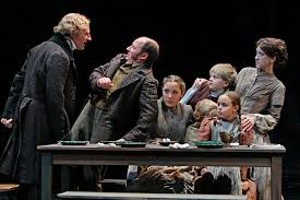 theater the guthrie u0027s new u201cchristmas carol u201d shaken up but