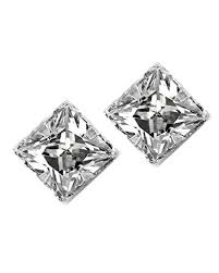 diamond stud earrings for men no piercing magnetic stud earrings men square cz