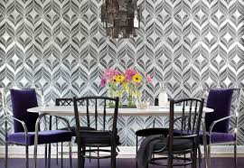 dining room wallpaper ideas gray black and silver dining room wallpaper ideas home interiors