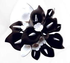 black calla black white calla cake topper medium caljavaonline