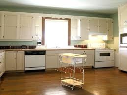 kitchen island 35 black storage finish double level mobile