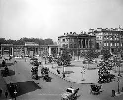 hyde park corner 1890 1900 looking at hyde park