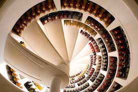 underground wine cellar spiral round designs