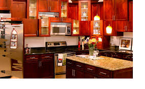 kitchen backsplash ideas with cherry cabinets pergola shed