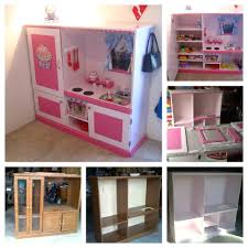 Homemade Play Kitchen Ideas Wonderful Diy Princess Dress Up Makeover Diy Recycle Tv Stands