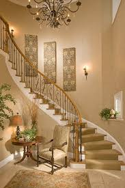 Ideas For Staircase Walls Idea Stair Wall Decor Also Staircase Decorating Ideas