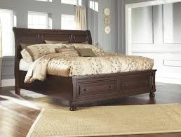 bedroom relax in the soothing space with ashley sleigh bed ashleys furniture bedroom sets beds frames ashley sleigh bed