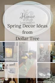 Dollar Tree Home Decor Ideas by Spring Decor Ideas From Dollar Tree Here Are Some Great Ideas For