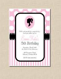 40th Birthday Invitation Cards Vintage Barbie Invites Etsy Google Search Party Ideas