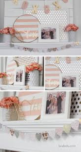 valentine u0027s day decor pink and gold mantel more mantel ideas