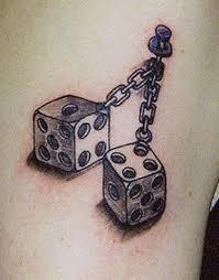 hanging dice design busbones