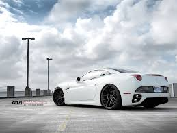 Ferrari California In White - ferrari california gets a dose of adv1 and wheels boutique