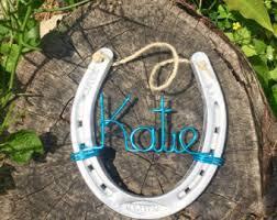 personalized horseshoes custom horseshoe horseshoe personalized horseshoe stall
